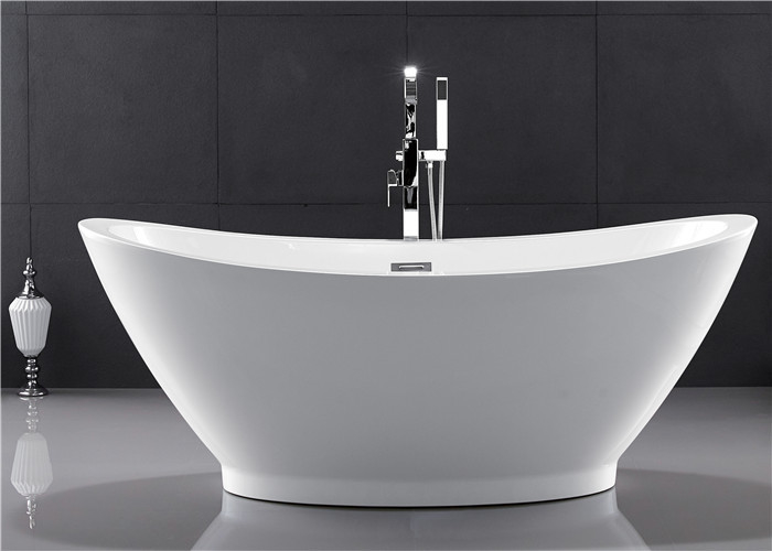 Comfortable Oval Shaped Baths American Standard Stand Alone Tub 2 Years Warranty