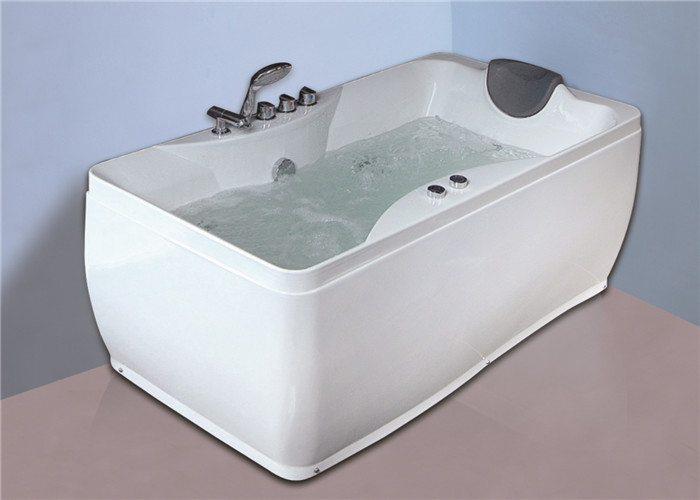 Contemporary Mini Indoor Hot Tub Jacuzzi Spa Tub With Auto - Cleanning