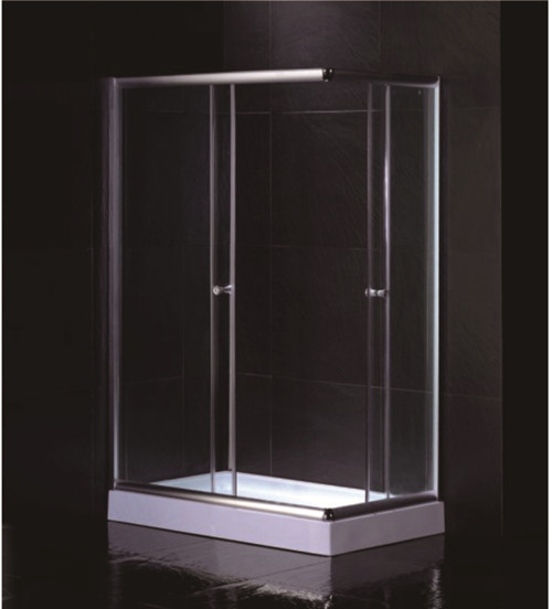 Free Standing 1200 X 800 Rectangular Shower Enclosure With Tray Center Drain
