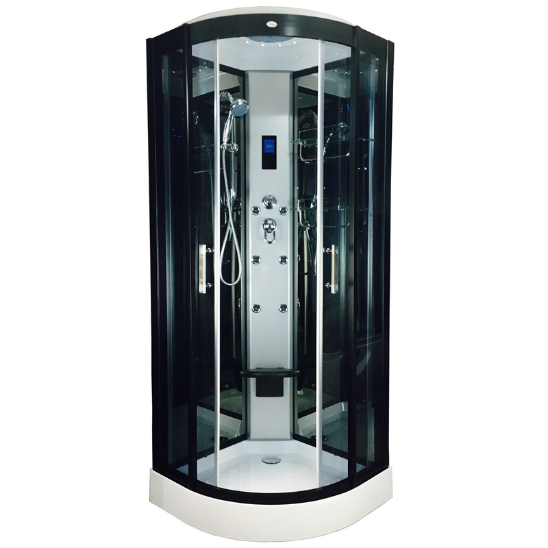 Self Contained Shower Steam Cubicle High End Shower Steam Unit 1 Year Warranty