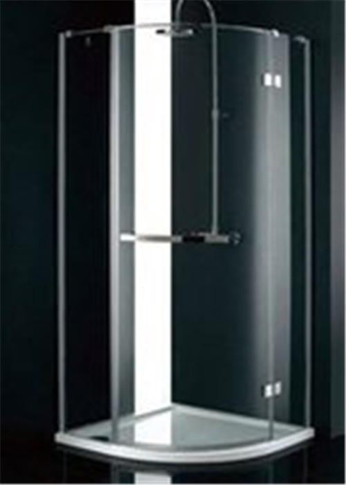 Stainless Steel Frame Glass Bathroom Shower Enclosures , B&Q Shower Cubicles For Home